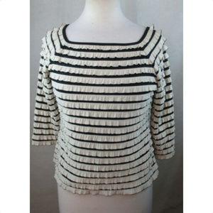 DRESSBARN Womens Blouse Shirt Top, Size M